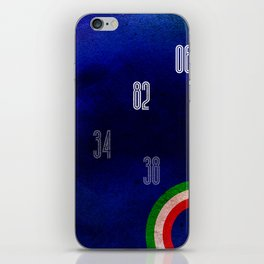 Italy World Cup iPhone Skin