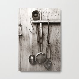 KITCHEN EQUIPMENT - Duplex Metal Print