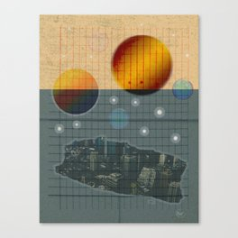 Collage NightSky Canvas Print