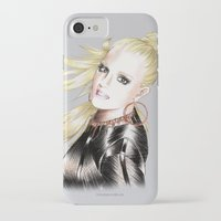 britney spears iPhone & iPod Cases featuring Britney Spears Scream & Shout by Eduardo Sanches Morelli