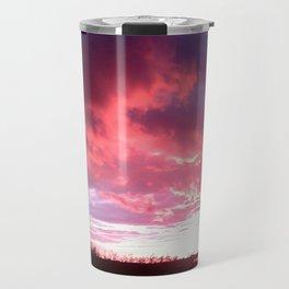 Pink Sky At Night, Muriel Lake Travel Mug