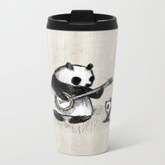 Banjo Panda Metal Travel Mug