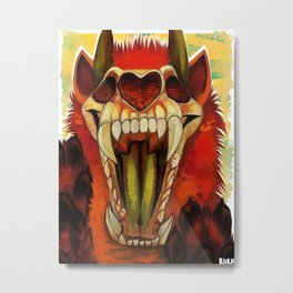 HI FRIEND Metal Print