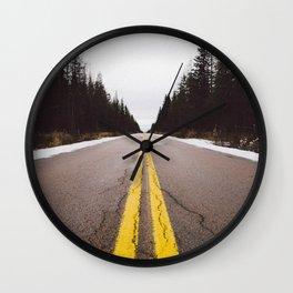 The Great Escape / Roadtrip Wall Clock