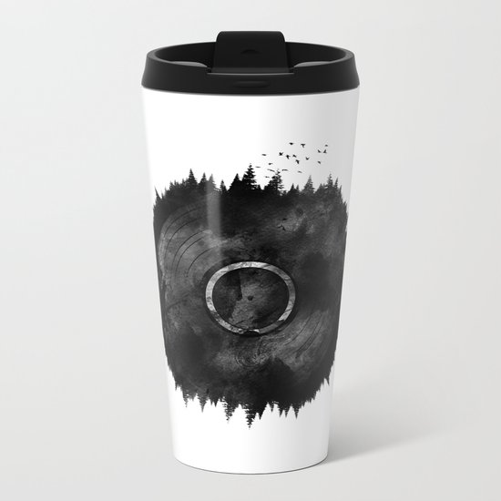 Forest Music Metal Travel Mug