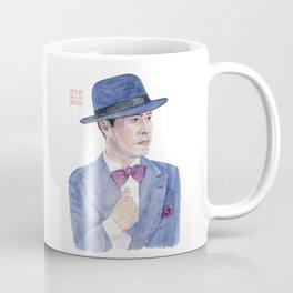 Man wearing a hat Coffee Mug
