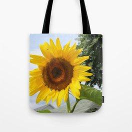 une seule fleur Tote Bag