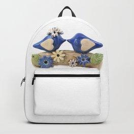 Blue birds Love birds Backpack