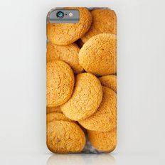 Delicious oatmeal cookies for breakfast Slim Case iPhone 6s