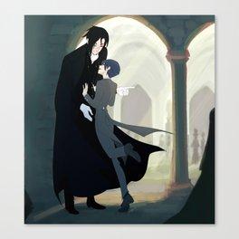 "Black Butler- ""don´t run on hallways"" Canvas Print"