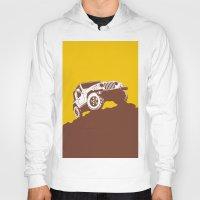 jeep Hoodies featuring car jeep by Luciano de Paula Almeida