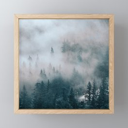 Hidden Path Framed Mini Art Print