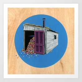 Sheds & Shacks | No:2 Art Print