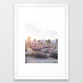 Joshua Tree Diptych [Left Side] Framed Art Print