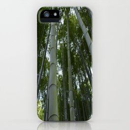 Bambu forest iPhone Case