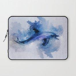 Dolphins Freedom Laptop Sleeve