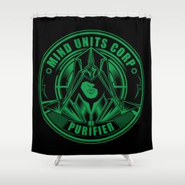 Mind Units Corp - Purifier Enlightened Version Shower Curtain