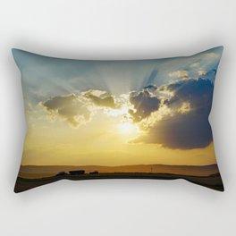 Farmers work Rectangular Pillow