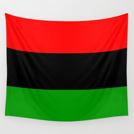 The Red. The Black. The Green. Wall Tapestry