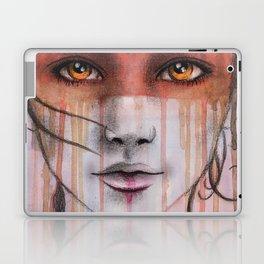 Amber Eyes Laptop & iPad Skin