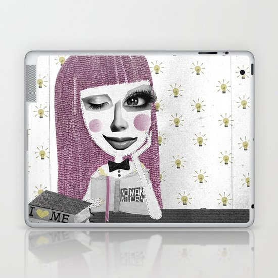 I think therefore I am... single Laptop & iPad Skin