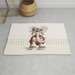 Loyolo - The Loyal Elephant Rug