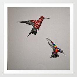 Convergent Evolutions Art Print