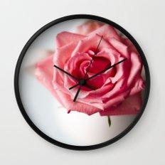 The Rose  Wall Clock