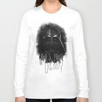 darth Long Sleeve T-shirts featuring Darth by Heather Engelberg