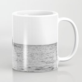 alone in the water Coffee Mug