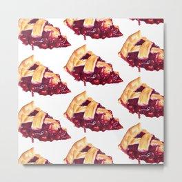 Cherry Pie : Food Series Metal Print