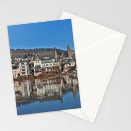 Jugendstil Hotel Moselle River Stationery Cards
