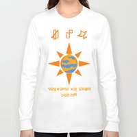courage Long Sleeve T-shirts featuring Courage  by Neegasai