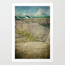 Beach II Art Print