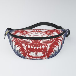 MMA Train Hard - Fight Easy, Mixed Martial Arts, Gym Fanny Pack