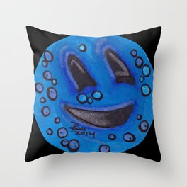 Sweating Happy - Mazuir Ross Throw Pillow