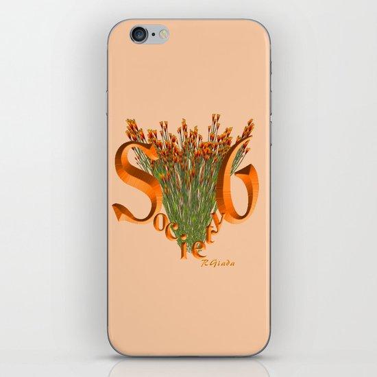 Orangelicious S6 iPhone & iPod Skin