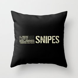 Snipes Throw Pillow