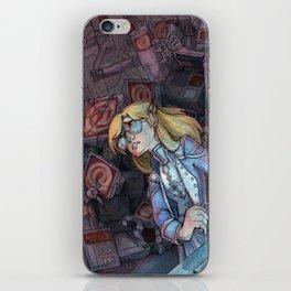 Code Romantic: Mina Poster iPhone Skin