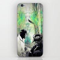 birdman iPhone & iPod Skins featuring Birdman by Cs025