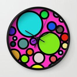 Circles Galore! Wall Clock