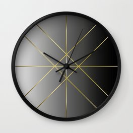 Patience is Gold Wall Clock