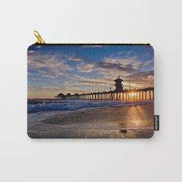 HB Sunsets  9/12/15    Huntington Beach Pier, Ca Carry-All Pouch