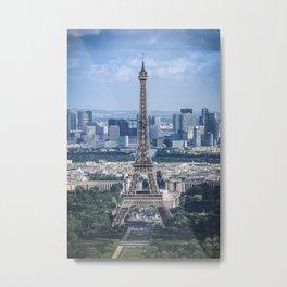 The Iconic Eiffel Metal Print