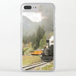 Colorado Railroad Clear iPhone Case
