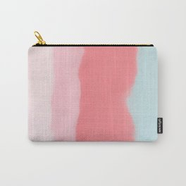 Abstract Painting - washedout velvetpink Carry-All Pouch