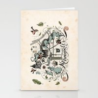 minneapolis Stationery Cards featuring Minneapolis Map by Jared Tuttle