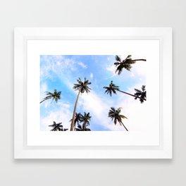 Cali Sky Framed Art Print