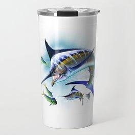 Marlin and Mahi Mahi Travel Mug