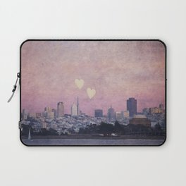 Where We Left Our Hearts Laptop Sleeve